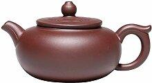 Zhangjinping Teekanne mit lila Ton (Farbe: Ruyi
