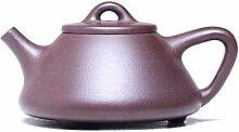 Zhangjinping Teekanne mit Steinschaufel, lila Ton