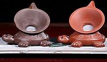 Zhangjinping Teesieb aus lila Ton, Filter,