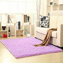 ZHANGJQ Sofa Nacht Großer Teppich Mädchen