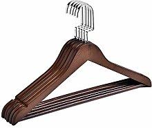 ZHANGLIXIANG DYS (10 Stück) Holz Kleiderbügel,
