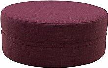 ZHANGRONG- Ändern Sie den Hocker-runden Hocker-Sitzen-Pier-Gewebe Lazy Sofa-Hocker Niedriger Hocker-Kaffeetisch-Spiel-Hocker-Sofa-Hocker (Farbe wahlweise freigestellt) --Lagerhocker ( Farbe : #4 )