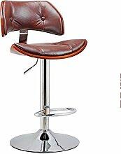 ZHANGRONG- American Bar schwimmt Retro Sofa Hocker Europäischer Stuhl Mode Bar Hocker Einfacher Hocker (Farbe optional) --Barhocker ( Farbe : 2 )