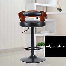 ZHANGRONG- Amerikanische Barstühle Retro europäischen Stil Bar Stühle Rezeption Mode ist einfach Hocker Sofa Hocker (Farbe optional) --Barhocker ( Farbe : 6 )