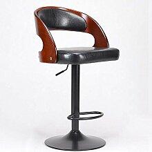 ZHANGRONG- Amerikanische Modebar kann gedreht werden Sofa Hocker Europäischer Liftstuhl Hocker (Farbe optional) --Barhocker ( Farbe : 3 )