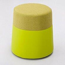 ZHANGRONG- Art und Weise rundes Stuhlgewebe Sofa Hocker Kreativer Schminkstuhl Home Sitzung Pier Schminktisch Umkleidekabine Schlafzimmer Tür Sofa Hocker (Farbe wahlweise freigestellt) --Lagerhocker ( Farbe : # 9 )