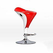 ZHANGRONG- Europäische Mode Bar Stühle Aufzugsstuhl Kassierer Hocker Rezeption hoher Hocker (Farbe optional) --Barhocker ( Farbe : 3 )