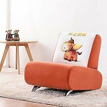 ZHANGRONG- Kinder Sofa-Sitz Netter kleiner Sofa-Hocker für Säuglinge und junge Kinder Karikatur-Baby-Sofa-Gewebe-Sofa-Schemel (Farbe wahlweise freigestellt) --Lagerhocker ( Farbe : #7 )
