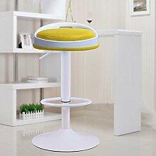 ZHANGRONG- Lift Bar Stühle Kassierer hoch Mode einfacher europäischer Stil Drehstuhl Aufzugsstuhl Sofa Hocker (Farbe optional) --Barhocker ( Farbe : 11 )
