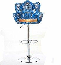 ZHANGRONG- Lift Bar Stuhl Drehen Sie die Rückenlehne Sofa zwei Hochstuhl Mode einfach Bar Hocker (Optionale Farbe) --Barhocker ( Farbe : 1 )