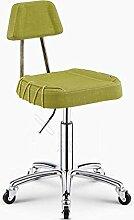 ZHANGRONG- Lift Schönheitssalon Stuhl Sofa Hocker Mit der Rückenlehne kann nach oben und unten gehoben werden Sofa Hocker Hocker (Farbe optional) --Barhocker ( Farbe : 7 )