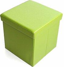 ZHANGRONG- Multi-Funktions-Hocker Lagerung Hocker Sofa Hocker Klapp-Hocker Platz für Schuhe Hocker Sofa Hocker (Farbe optional) --Lagerhocker ( Farbe : B )