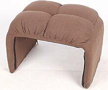 ZHANGRONG- Single Tuch Freizeit Computer TV Stuhl Mode Sofa Sitz Sofa Hocker (Farbe optional) --Lagerhocker ( Farbe : C )