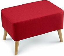 ZHANGRONG- Tuch von rechteckigem Holz-Sofa-Schemel-Massivholz-niedriger Hocker-einfacher und moderner Sofa-Schemel (Farbe wahlweise freigestellt) --Lagerhocker ( Farbe : #6 )