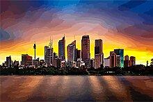 zhangshifa Malen Nach Zahlen Erwachsene,Australien