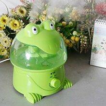 Zhangxin Der Luftbefeuchter Home Stumm Schlafzimmer Büro Indoor Mini Desktop Cartoon Mini Nette Tiere, Grün
