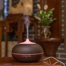 Zhangxin Luftreiniger Kleine Luftbefeuchter Mini Luftbefeuchter Luftbefeuchter Schlafzimmer Büro Ruhig,Leichte Maserung