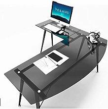 [ZHANGYANA] L-förmiger Schreibtisch schlichter