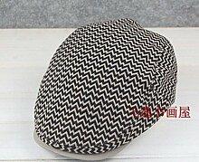 ZHANGYONG*Hüte für Damen und Herren Cap Frühling Fashion Trend Jugend Freizeit Männer Barette, M (56-58 cm)-Karte)