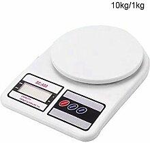 ZHANGYUGE 1000G/0,1G Digitale Waage Essen Diät