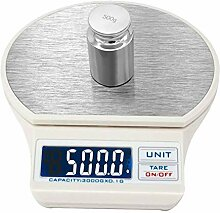 ZHANGYUGE 3 kg/0,1g Präzision Küchenwaage