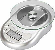 ZHANGYUGE 5 Kg 5000G/1G Digitale Küchenwaage