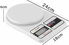 ZHANGYUGE Digitale Waage, Küchenwaage, Diät,