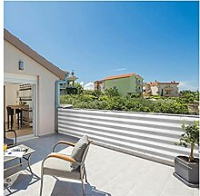 ZHANWEI Balkon Sichtschutz,75% UV-Beständigkeit