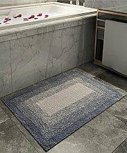 ZHANWEI Bereich Teppiche Einfache Idee Bedside Teppich Wasserabsorbierung Rutschfeste The Door Teppich Wohnzimmer Hall Sofa Schlafzimmer Teppich ( Farbe : A , größe : 40*60cm )