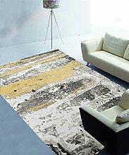 ZHANWEI Bereich Teppiche Einfache Idee Bedside Teppich Wasserabsorption rutschfeste Türmatten Wohnzimmer Hall Sofa Schlafzimmer Teppich ( Farbe : E , größe : 80*120cm )
