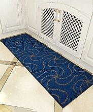 ZHANWEI Bereich Teppiche Einfache moderne Wasser-Absorption Anti-Rutsch-Tür Tür Teppich Wohnzimmer Sofa Teppich Schlafzimmer Bedside Teppich ( Farbe : A , größe : 50*260CM )