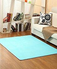 ZHANWEI Bereich Teppiche Einfacher Normallack Bedside Carpet Kreative Wasserabsorption Rutschfeste Türmatten Wohnzimmer Hall Sofa Schlafzimmer Teppich ( Farbe : D , größe : 120*160CM )