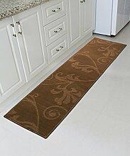 ZHANWEI Bereich Teppiche European Style Anti-Rutsch-Teppich Einfache kreative Teppich Sofa Couchtisch Teppich Moderne Türmatten Wohnzimmer Hall Schlafzimmer Teppich ( größe : 50*120CM )