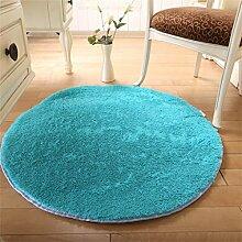 ZHANWEI Bereich Teppiche Haushalt runde Matte Anti-Rutsch Verschleißfeste Teppich Wohnzimmer Schlafzimmer Tür Absorbent Fuß Teppich ( Farbe : B , größe : 1.4M )