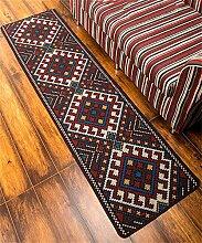 ZHANWEI Bereich Teppiche Kreativ Einfache Retro Küche Lange Türmatten Schlafzimmer Nachttisch Vorne Anti-Rutsch Boden Matte ( größe : 50*120cm )