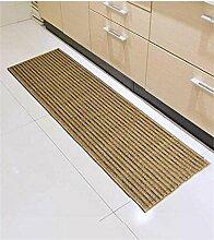 ZHANWEI Bereich Teppiche Küche Boden Matte Anti-Rutsch Anti-Öl lange Fuß Teppich Wasser saugfähige Tür Matte ( Farbe : C , größe : 50*280CM )