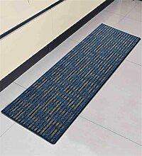 ZHANWEI Bereich Teppiche Küche Boden Matte Anti-Rutsch Anti-Öl lange Fuß Teppich Wasser saugfähige Tür Matte ( Farbe : B , größe : 50*200CM )