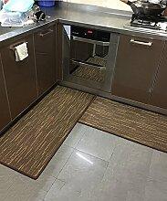 ZHANWEI Bereich Teppiche Modern Simplicity Stripe Bedside Teppich Wasserabsorption Rutschfeste Türmatten Wohnzimmer Sofa Schlafzimmer Teppich ( Farbe : B , größe : 50*150CM )
