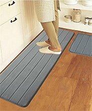 ZHANWEI Bereich Teppiche Rechteck Gemischt Küche Anti-Öl-Matten Fuß Teppich Wasserabsorbierende Anti-Rutsch-Teppich ( Farbe : B , größe : 50*80CM )
