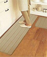 ZHANWEI Bereich Teppiche Rechteck Gemischt Küche Anti-Öl-Matten Fuß Teppich Wasserabsorbierende Anti-Rutsch-Teppich ( Farbe : A , größe : 50*160CM )