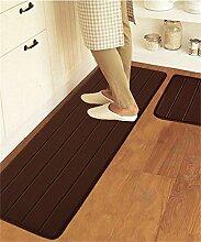ZHANWEI Bereich Teppiche Rechteck Gemischt Küche Anti-Öl-Matten Fuß Teppich Wasserabsorbierende Anti-Rutsch-Teppich ( Farbe : C , größe : 50*120CM )