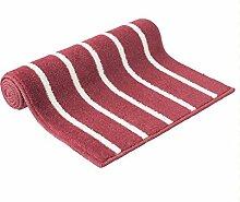 ZHANWEI Bereich Teppiche Rechteck-Küche Anti-Öl-Matten Fuß Teppich Wasserabsorbierende Anti-Rutsch-Teppich ( Farbe : D , größe : 45*150cm )