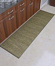 ZHANWEI Bereich Teppiche Rutschfester Streifen-Teppich einfacher kreativer Teppich-Sofa-Kaffeetisch-Teppich-moderne Tür-Matten-Wohnzimmer-Hall-Schlafzimmer-Teppich ( größe : 50*210CM )