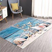ZHANWEI Bereich Teppiche Tür Matte Anti-Rutsch Verdickte Fußteppich Badezimmer Balkon Wasserdichte Boden Matte ( Farbe : H , größe : 1.2*1.8M )