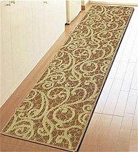 ZHANWEI Bereich Teppiche Tür Matte Anti-Rutsch Verdickte Fußteppich Badezimmer Balkon Wasserdichte Boden Matte ( Farbe : B , größe : 50*180CM )