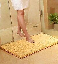 ZHANWEI Bereich Teppiche Verdickte Türmatten Wohnzimmer Schlafzimmer Nicht rutschfeste Wasser saugfähige Fußmatten Fußteppich ( Farbe : J , größe : 80*120cm )