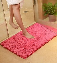ZHANWEI Bereich Teppiche Verdickte Türmatten Wohnzimmer Schlafzimmer Nicht rutschfeste Wasser saugfähige Fußmatten Teppich ( Farbe : J , größe : 70*140cm )