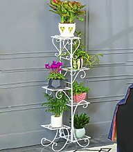 ZHANWEI Blumenständer Flower Pot Regal Eisen 5-