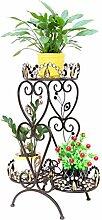 ZHANWEI Blumenständer Kleine Blumenständer Mehrgeschossige Mehrzweck Kreative Indoor Blumentöpfe Regal Blumenregal ( Farbe : A )