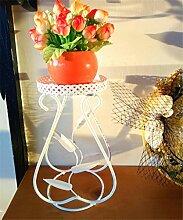 ZHANWEI Blumenständer Kleine Eisen Blumen Regal Büro Desktop Mini Pflanze Kreative Blumentopf Rack Blumenregal ( Farbe : A )